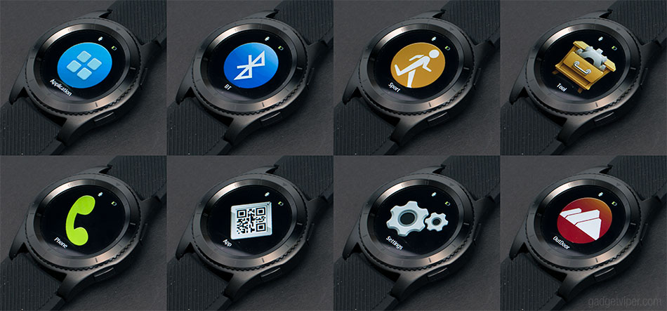 The No.1 G8 Smart Watch settings