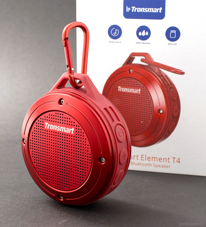 The Tronsmart T4 Element Bluetooth speaker