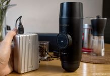 A review of the Pressopump a portable espresso machine powered by a USB pump
