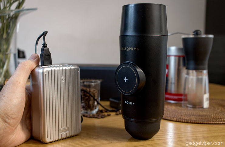 Pressopump Review Usb Powered Portable Espresso Coffee