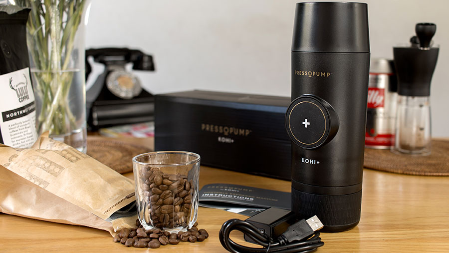 Pressopump review- A USB powered portable espresso machine