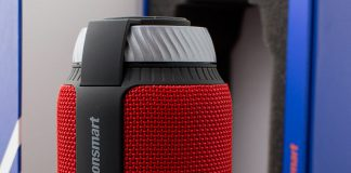A review of the Tronsmart Elemenet T6 Bluetooth speaker featuring 360 degree surround sound