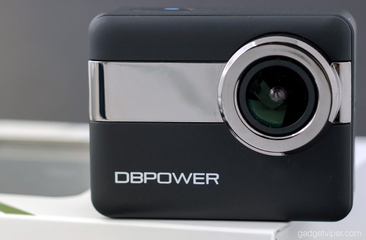 The DBPOWER 4K action camera review - An affordable 4K action cam with touchscreen controls and WiFi
