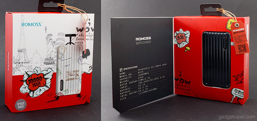 Looking to buy a 10000mAh power bank as a gift? The ROMOSS UP10 would be ideal with its stylish packaging