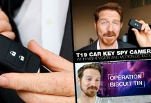 A review of the Conbrov T19 Spy Camera, A hidden cam disguised as a Car Key Fob.