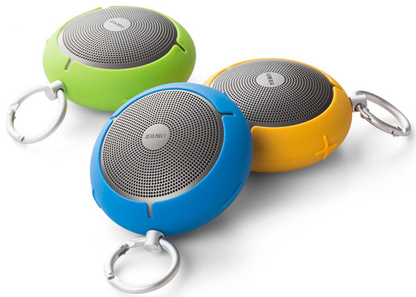The Edifier MP100 is available in blue, yellow and green
