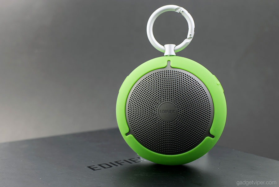 The Edifier MP100 palm size portable Bluetooth speaker review
