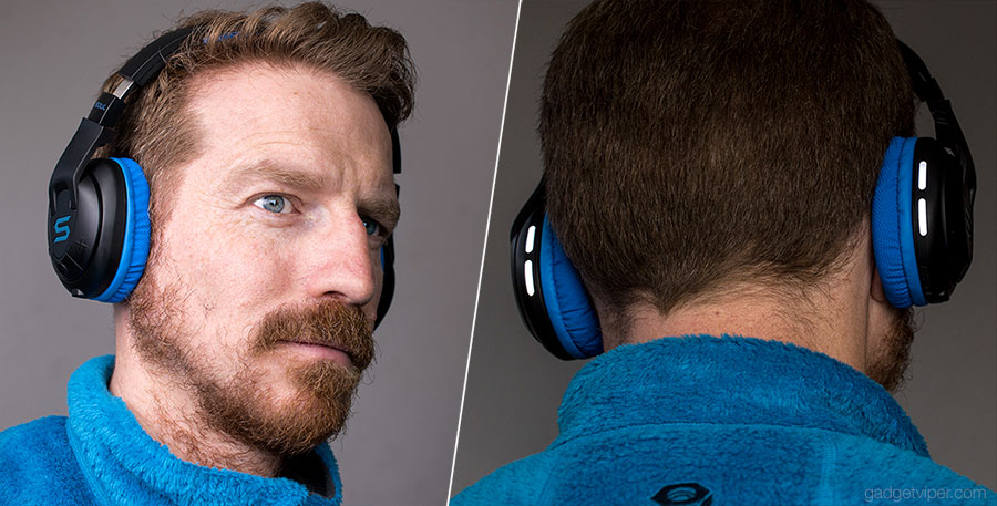 The Soul X-TRA headphones are perfect for running at night