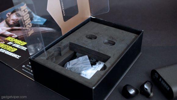 X-Shock True Wireless earbuds - unboxed