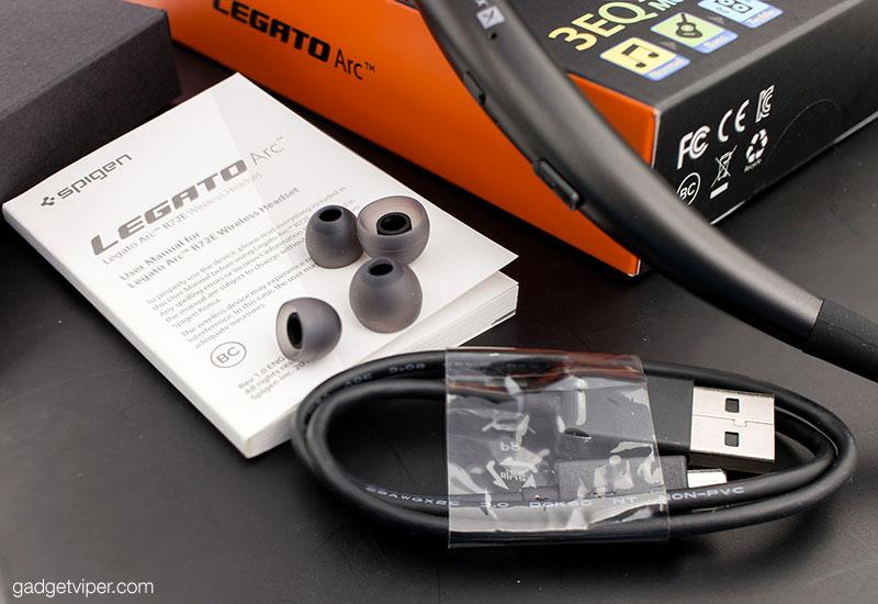 Unboxing the Legato Arc Bluetooth neckband headphones