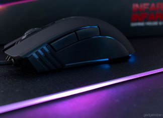 A review of the Infarex M10 and R10 gaming mat and mouse combo by XPG