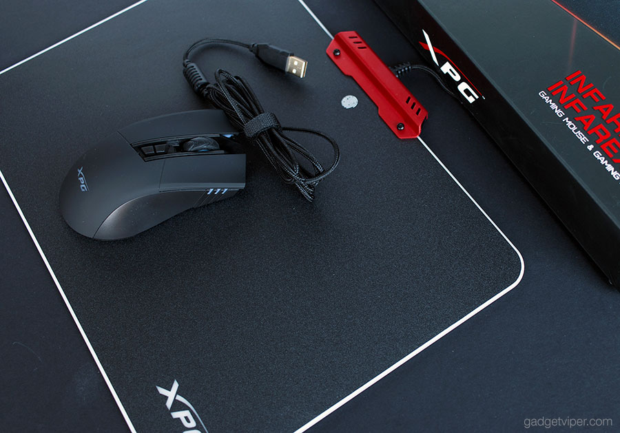 A look at the XPG R10 Infarex backlit mousepad