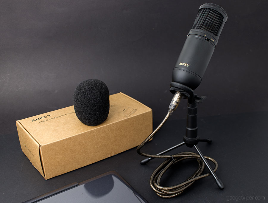 The Verdict on the AUKEY MI-U2 USB condenser microphone