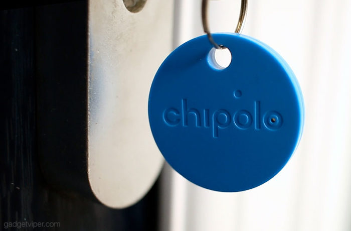 The Chipolo Classic located my lost keys, I found them dangling in my front door!
