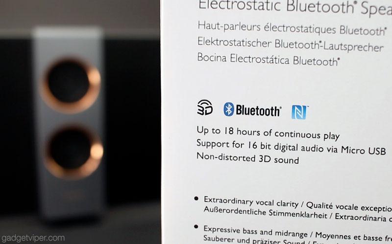 The TreVolo S Electrostatic speaker by BenQ
