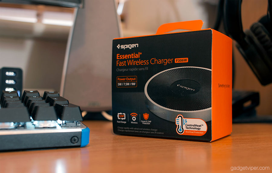 new concept f9607 2c24a Spigen Wireless Charger Review - F306W Essential Fast Charging Pad