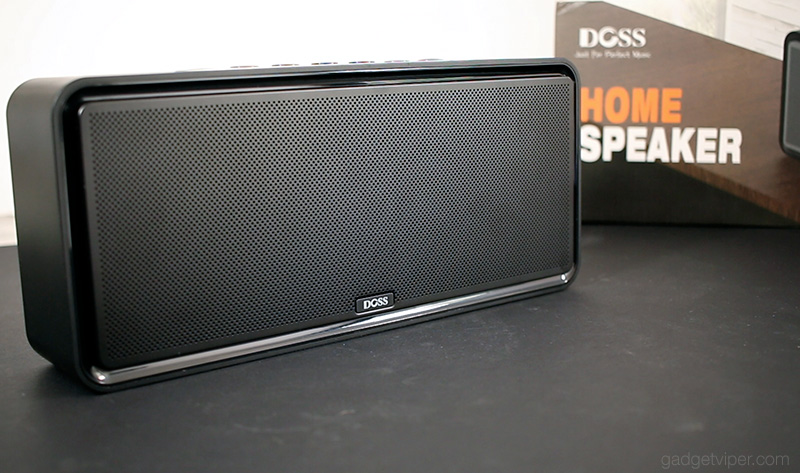 The DOSS Soundbox XL - design and build quality.