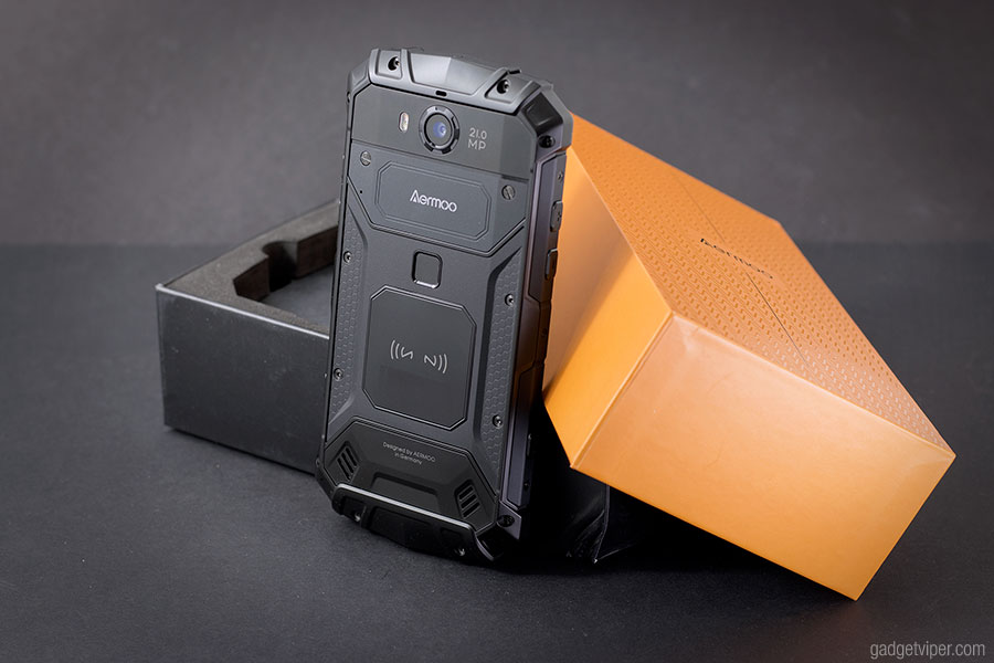 A hands on review of the Aermoo M1 a rugged, shock resistant, fully waterproof smartphone.