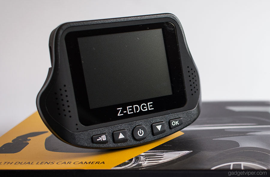 The Z-Edge S3 Stealth Dash Cam