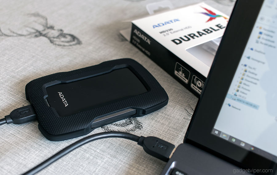 A full review of the ADATA HD330 external hard drive