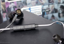 The manual controls on the Soul Electronics Run Free Pro HD Sports earphones