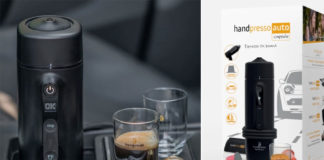 Handpresso Auto Capsule Espresso Coffee machine review