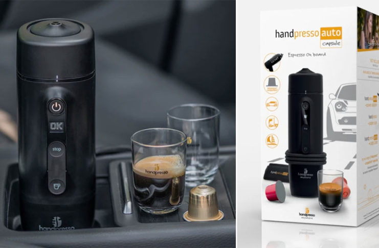 Handpresso Auto Capsule Espresso Coffee machine review