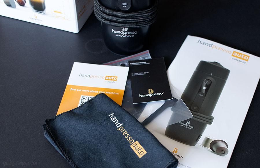 Unboxing the Handpresso Auto Capsule - A Portable espresso machine