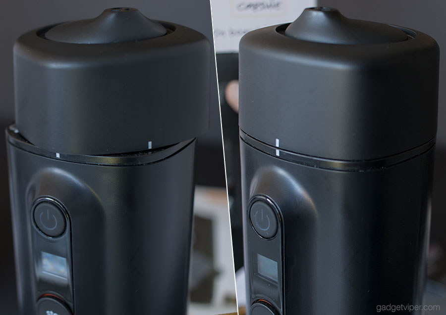 The Handpresso Auto Capsule portafilter