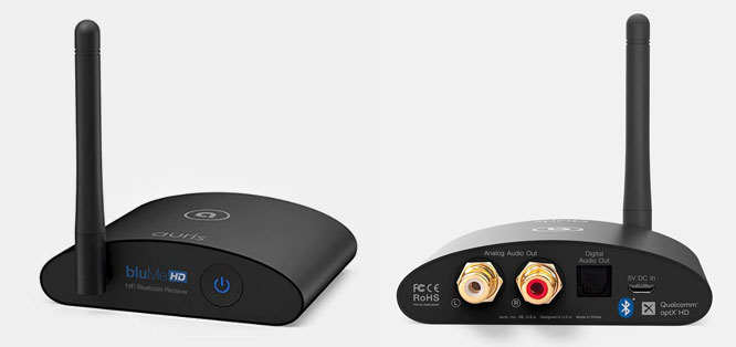 Auris Blume HD Long Range Bluetooth Music Receiver featuring Bluetooth 5.0