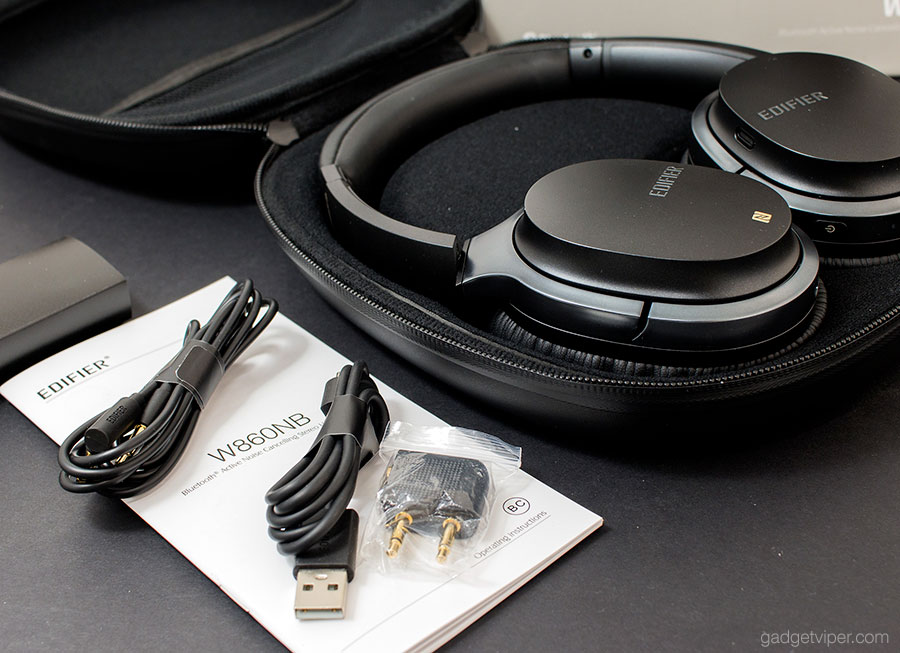 Unboxing the Edifier W860NB Active noise cancelling Bluetooth headphones