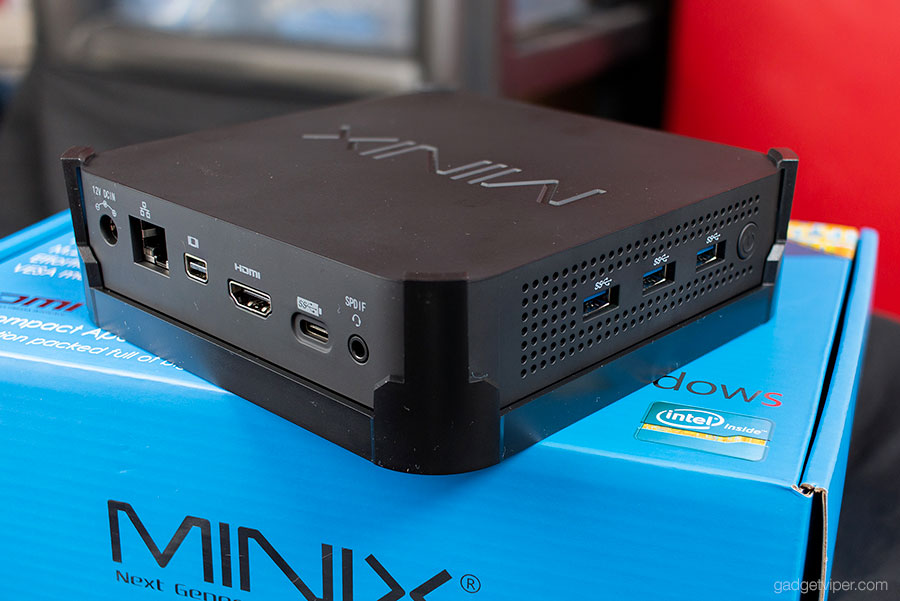 The design and build quality of the Minix Neo N42C Mini PC