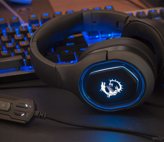 MSI GH50 gaming Headset Review