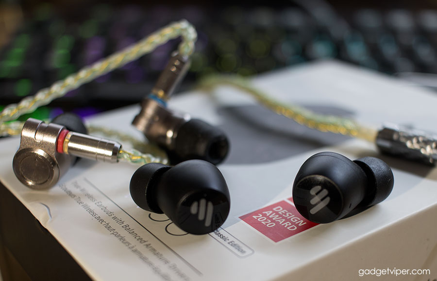 Edifier TWS6 earbuds compared to the Tin T3 IEM's