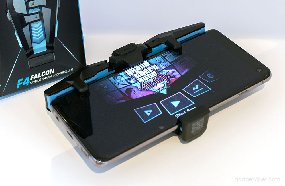 Mobile gaming with the GameSir F4 Falcon controller